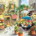 Cafes - Restaurants - Geschäfte