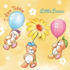 5 kleine Teddies - 5 Little Bears - 5 petits ours