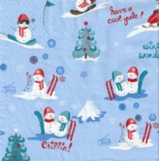 Kleine Schneemänner - Cool Snowmen - Beaucoup, peu bonhommes de neige