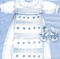 Baby Boy - Christening robes blue