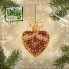 Wunderschöner Baumbehang, Baumkugeln - Christmas Heart & more cream