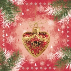 Christmas heart & more red
