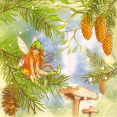 Winterfee/Elfe Melinda - Fairy