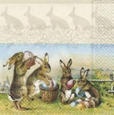 Osterhasen & Ostereier nostalgisch - Nostalgic Easter and Easter bunnies - Lapins de Pâques et oeufs de Pâques nostalgiques