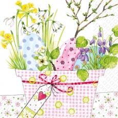 Osterblumentopf - Easter flower pot - Pot de pâquerettes