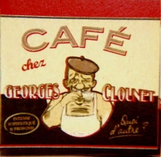 Cafè chez Georges Clounet