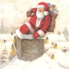 Santa am Schornstein - Down the chimney