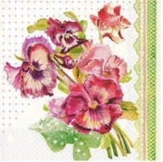 Strauß Stiefmütterchen - Bunch of pansies - Bouquet de violettes