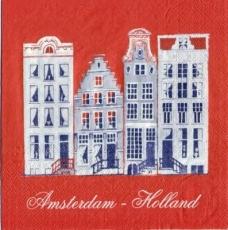 Amsterdam - Holland - Grachtenhäuser - Netherlands - Canal houses - Hollande - Maisons canal