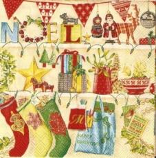 Weihnachtsregale voller bunte Vielfalt zu Weihnachten, klein - Christmas shelves full of colorful variety for Christmas - Étagères de Noël pleines de variété colorée à Noël