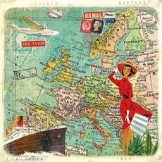 Nostalgische Reise, Schiff, Flugzeuge - Nostalgic Journey, Ship, Airoplane - Voyage nostalgique, navire, aéronef