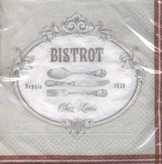Altes Besteck - Old Cutlery - Vieux Couverts, Bistrot, Chez Louis
