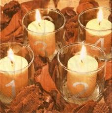 Kerzen im Glas, Advent - Candles in glass, Advent - Bougies Jar, lAvent