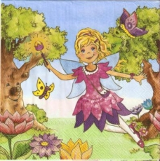 Kleine Fee & Schmetterlinge - Little fairy & butterflies - Petite Fée & Papillons