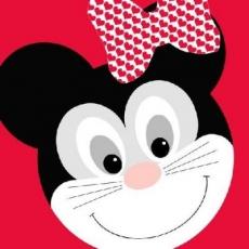 2x Minnie Mouse