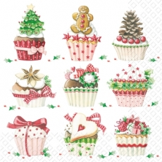 Leckere Winter Törtchen, Cupcakes, Muffins - Delicious Winter tarts - Tartes délicieux hiver, petits gâteaux