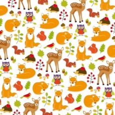 Rehe, Eulen, Eichhörnchen, Igel, Fuchs & Vögel - Deer, owls, squirrels, hedgehogs, foxes and birds - Cerfs, hiboux, écureuils, hérissons, renards & oiseaux