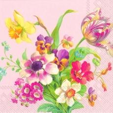 Wunderschöner Blumenstrauß rosé - Beautiful flower bouquet pink - Magnifique bouquet du fleurs, rose