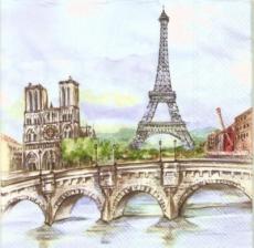 Paris, Eiffelturm, Notre-Dame, Moulin Rouge, Pont Marie