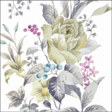 Helle Rose & andere Blumen - Bright rose and other flowers - rose lumineux et autres fleurs