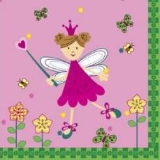 Kleine Fee, Prinzessin mit Schmetterlingen - Little fairy, princess with butterflies - Petite fée, princesse avec des papillons