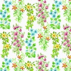 Im Blumengarten - In the flower garden - Dans le jardin de fleurs