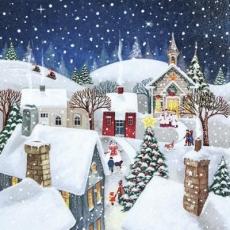 ein weihnachtliches Dorf - a Christmas village - un village de Noël