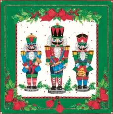 3 Weihnachtsfiguren, Nußknacker - 3 Christmas figures, nutcrackers - 3 figures de Noël, casse-noix