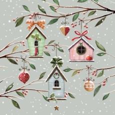 Wintervogelhäuschen - Winter bird houses - Hiver mangeoire pour les oiseaux