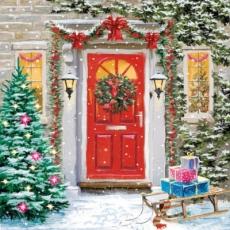 Auch draußen weihnachtlich geschmückt - Outdoor christmas decoration - Décoration de Noël en plein air