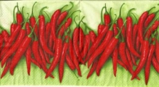 Chilischoten Peperoni - Chili peppers - Piments, poivrons