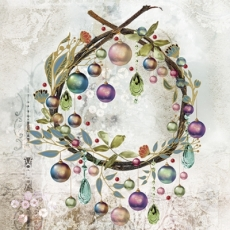 Zarten, hübscher, edler Baumschmuck, Weihnachtskugeln - Delicate, handsome, noble tree decorations, Christmas balls - Délicat, beau, décorations pour arbres nobles, boules de Noël