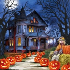 Gruselige Halloween NAcht - Spooky Holloween Night - Nuit d Halloween effrayante