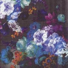 Blumenstrauß mit blau und lila Blumen - Bouquet with blue & purple Flowers - Bouquet de fleurs avec bleu et lilas fleurs