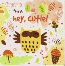 Süße Eule - Cute Owl - Hibou mignon