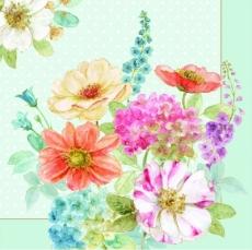 Zarte Blumen aus dem Garten - Delicate flowers from the garden - Fleurs délicates du jardin