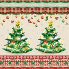 2 wunderschöne Tannenbäume - 2 pretty Christmas Trees - 2 jolis arbres de Noël