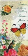 Wunderschöne Blumen, Vogel & Schmetterling - Beautiful flowers, bird & butterfly - Belles fleurs, oiseau et papillon