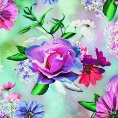 Strahlender Blumenzauber - Radiant flower magic - Sort de fleur radiante