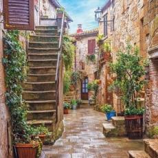 mediterrane Gasse - Mediterranean alley - Ruelle méditerranéenne