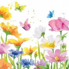 Schmetterlinge besuchen bunte Blumen - Butterflies visit colorful flowers - Les papillons visitent des fleurs colorées