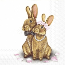 verliebtes Hasenpärchen - in love bunny couple - amoureux lapin couple