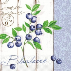 Blaubeeren vor einer Holzwand - Blueberries in front of a wooden wall - Myrtilles devant un mur en bois