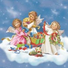 Engel feiern Weihnachten - Angels celebrate Christmas - Les anges célèbrent Noël