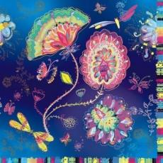 schöne Fantasieblumen & Schmetterlinge - beautiful fantasy flowers and butterflies - beaux fleurs et papillons fantaisie