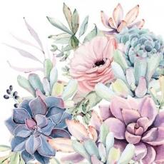 Blumengruss - Floral greeting - Voeux floral