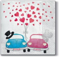 verliebte Autos - love cars - voitures d amour