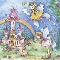 magische Feen am wunderschönen Schloss - magical fairies at the beautiful castle - fées magiques au beau château