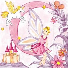 Fee, Einhorn & Märchenschloss - Fairy, unicorn & fairytale castle - Château féerique, licorne et conte de fées