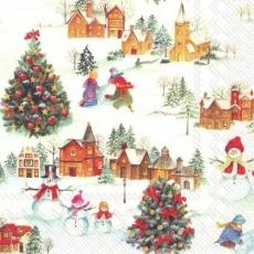 lustiges Scneetreiben im Dorf - funny snow driving in the village - drôle de neige conduite dans le village